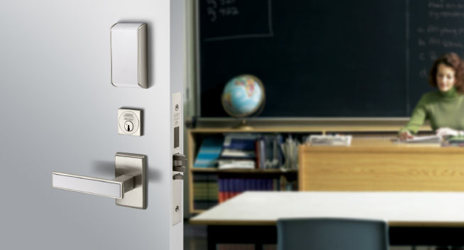 door locks for schools