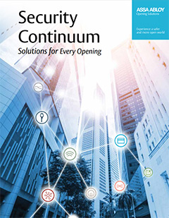 Security Continuum - Solutions for Every Opening