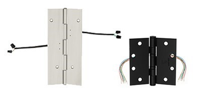 Electrified Hinges / Power Transfer