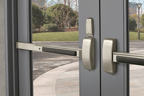 Exit Devices Panic Bars And Crash Bars What S In A Name Assa Abloy Door Security Solutions